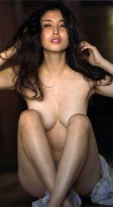橋本マナミの過激乳首画像